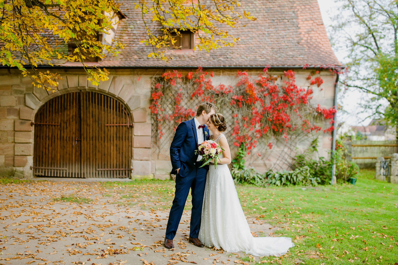 Eine Hochzeit In Orange Im Schloss Durrenmungenau Hochzeit