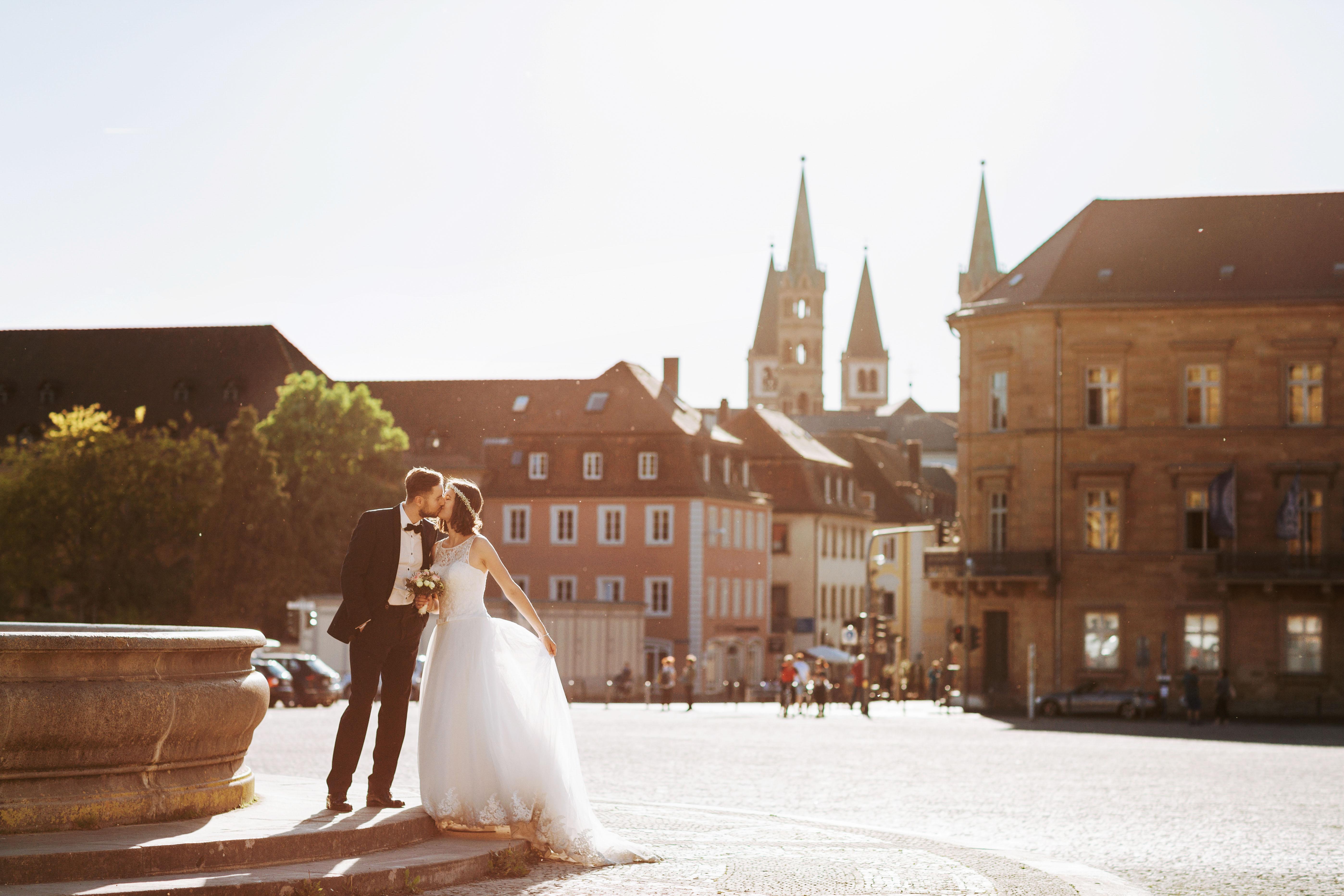 (Deutsch) Erinnerungen an einen Sonnenabend Hochzeitsfotograf Würzburg