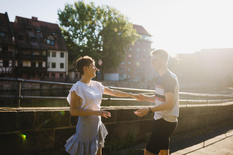 (Deutsch) Tanzen in der Sonne –  Fotoshooting Nürnberg