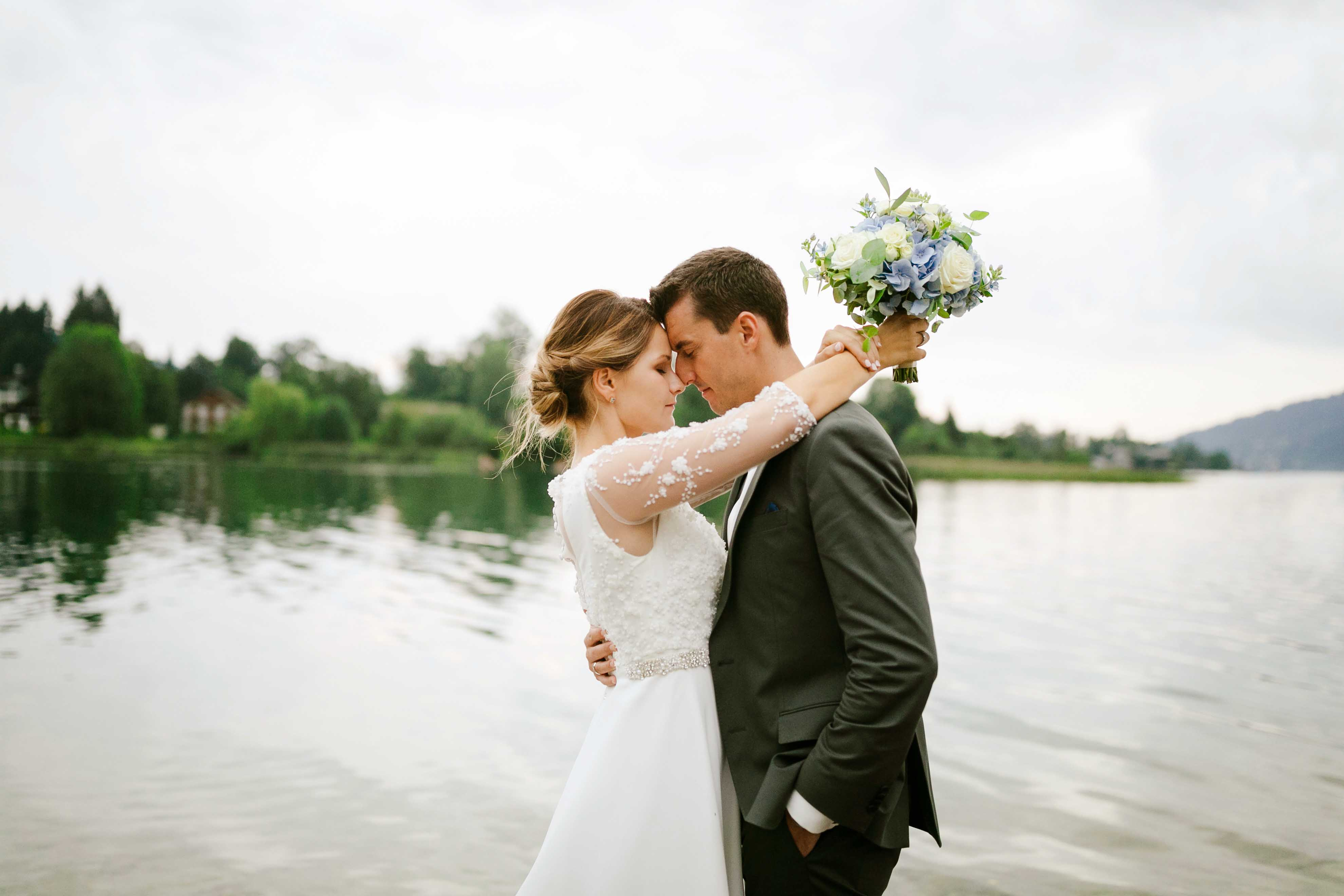 Fährhütte 14 Hochzeit – ein Blauer Traum am Tegernsee
