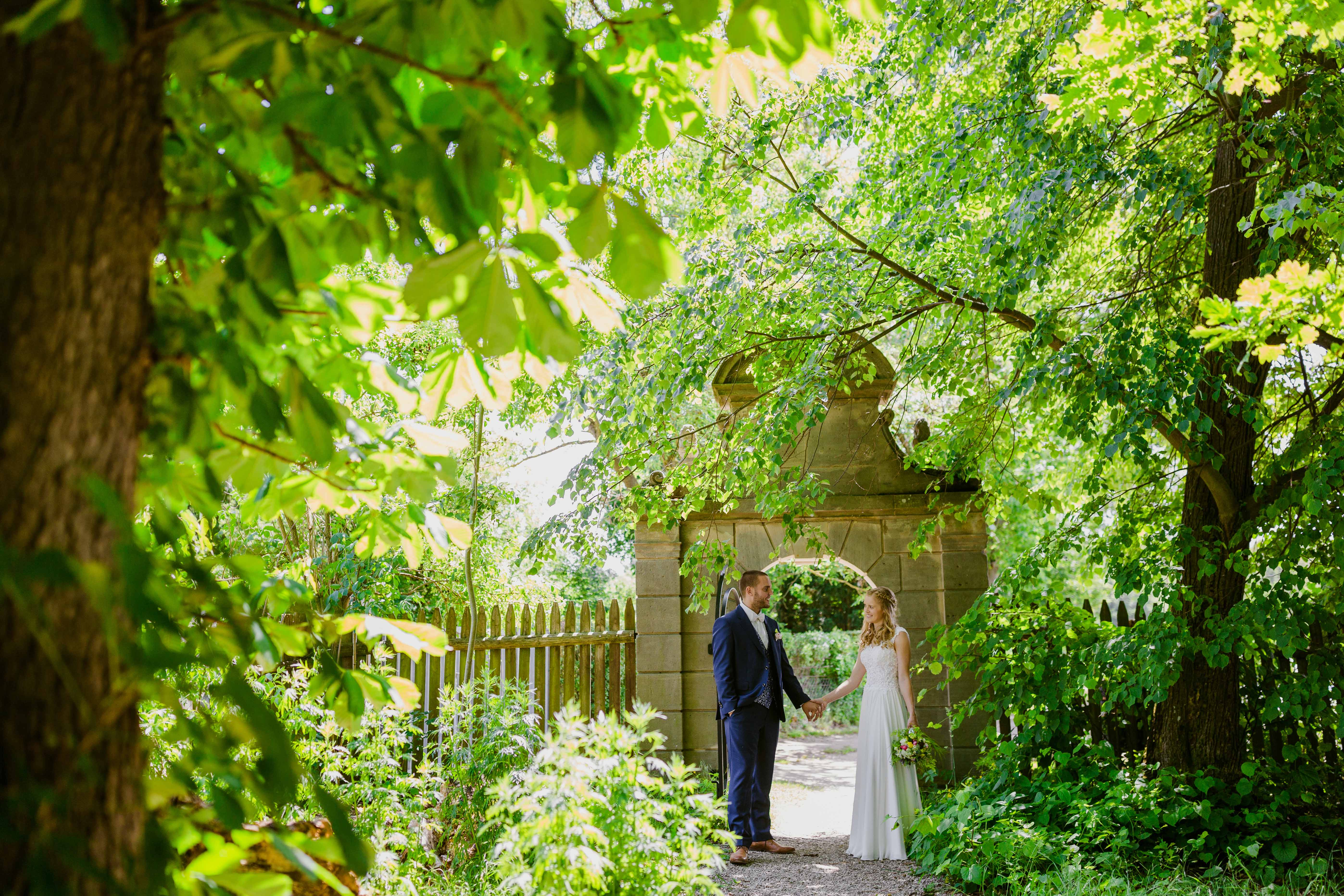 Gwächshaus Nürnberg Hochzeit – Der Natur nah